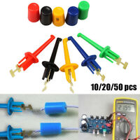 Grabbers Connector Test Probe Hook Clip Multimeter Lead Wire Electronic Testing