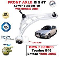 1x Asse Ant Dx Braccio Oscillante Inferiore per BMW 3 Touring E46 Familiare