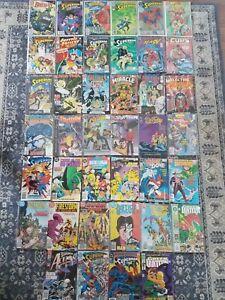 DC Comic Lot (40). Wonder Woman Batman Superman Mostly Copper Age