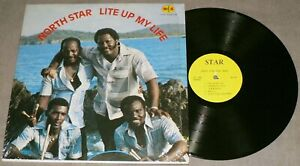 NORTH STAR STEEL BAND Lite Up My Life N&S LP-1001 AUTOGRAPHED PRIVATE Vinyl LP