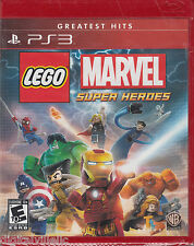 LEGO Marvel Super Heroes PS3 Sony PlayStation Brand New Sealed Fast Shipping