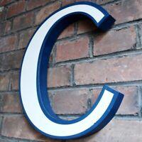 BUCHSTABE C aus Reklame Schriftzug TOP Corinna Christoph Carla Carsten Christine