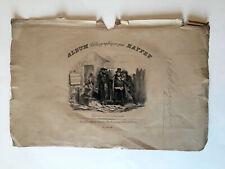 Auguste RAFFET Lot lithographies couvertures feuillet Napoléon Empire