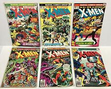 X-MEN #95,96,97,98,99,100 (6 issues & Keys, early Wolverine!) 1975-1976 Marvel