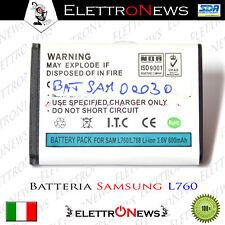 Batteria Samsung L760/L768 600 mAh prodotto nuovo garantito