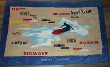 Tommy Hilfiger over sized surfs up beach towel - super soft 100% Cotton
