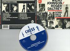 WILKO JOHNSON / ROGER DALTREY ~GOING BACK HOME~ DIGIPAK CD WITH BOOKLET~ FREE PP