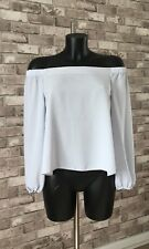 Womens/Ladies Long Sleeved Off Shoulder Top New Liok Size 10