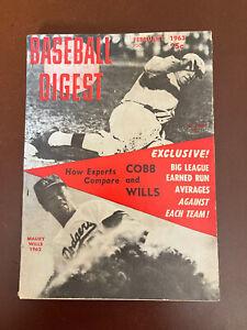 February 1963 Baseball Digest