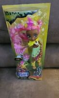Cave Club Fernessa With Pet Ptilly, With Fun Plant, New Mattel Prehistoric Doll