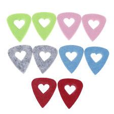 10Pcs Ukulele felt picks plectrum personalized ukelele accessories ^P