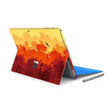 Back&Side Body Sticker Skin Decal Cover -Surface Pro 4/ Pro 2017-Autumn Forest
