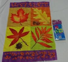 FLAGS Decorative Garden Lot 3 Fall, Welcome (NEW) and Celebrate!