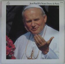 Pape Jean-Paul II 33 tours Notre Dame de Paris