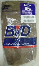"""US ARMY DSCP BVD BROWN COTTON BRIEFS PACK OF 3 UNDERWEAR WAIST 30"""""""