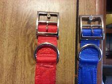Dog Collars 1.5 Webbing 3 Ply Heavy Duty Hunting Dogs!!
