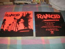 Rancid-(indestructible)-1 Poster-2 Sided-12X12-Nmint-Rare