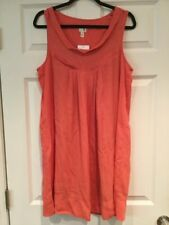 Edme & Esyllte Anthropologie Coral Shift Dress, Size Small, NWT!