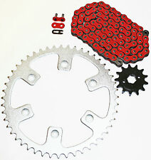 2003-2014 HONDA CRF230F 230 F RED CHAIN AND SPROCKET 13/50 110L