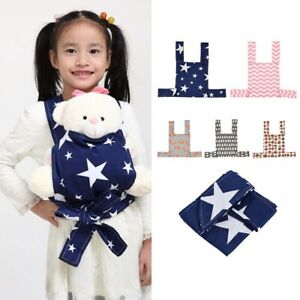 Baby Doll Carrier Sling Toy Kid Children Cartoon Toddler Front Back Carrier'