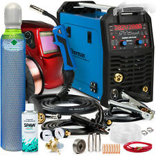MIG Welder inverter 200A Aluminium Pulse welding machine set SHERMAN DIGIMIG 200