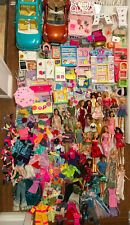 Huge Barbie Lot with Furniture and Accessories! Kelly, Ken and more, Must See!