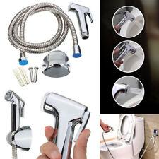 Shower Spray Handheld clean Kit Toilet Hose Bidet 1Pcs Set Bracket Adapter