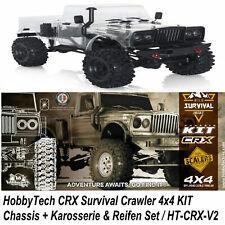 HobbyTech CRX Survival Crawler 4x4 KIT Chassis Bausatz Rießig HT-CRX-V2