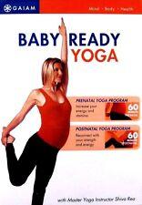 Gaiam -  Baby Ready Yoga: Prenatal & Postnatal (DVD 2007)  **Free Shipping!