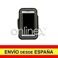 Brazalete Deportivo Neopreno NEGRO para Sony Xperia M2 Aqua a0367