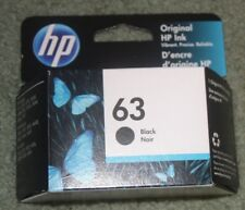 NEW HP 63 Black GENUINE Ink Cartridge ((F6U62AN),Exp MARCH 2020up FAST SHIP