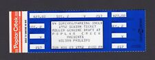 1992 Wilson Phillips Unused Concert Ticket Hoffman Estates Il Shadows and Light