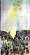 William Benecke - Paris France - Original Mixed Media - Oil on Canvas