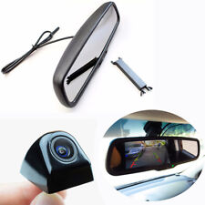 "4.3"" TFT Display Car Anti-glare Rearview Monitor +Night Vision Camera Waterproof"