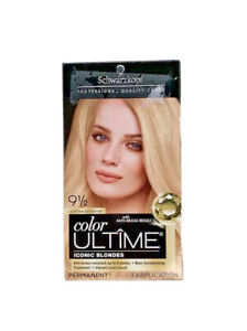 Schwarzkopf Color Ultime Permanent Hair Color 9 1/2 Light Natural Blonde