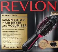 Revlon Pro Collection Salon One-Step Hair Dryer & Volumizer Brush, Mint