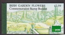 UMM MNH STAMP BOOKLET 1990 IRELAND EIRE IRISH GARDEN FLOWERS SG 781-784