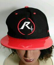 Revive Skate Black & Shiny Red Baseball Cap Hat