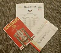Morecambe v Newcastle United 22/9/20 CARABAO CUP 3RD ROUND PROGRAMME+TEAMSHEET!!