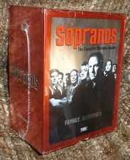 The Sopranos The Complete Second Season 5 Vhs Cassette Box Set,New & Sealed,Rare