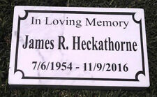 cemetery headstones grave markers for sale ebay