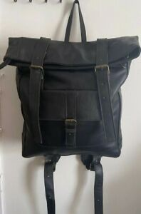 Leather backpack,Leather backpack women,leather backpack men ,black leather bag.