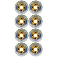 Inline Skate Roller Hockey Wheel INSTRIKE RAIDER 80mm 75a 12-Spoke Set of 8