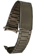 Titan Uhrenarmband mit Rundanschluss + Faltschliesse - 18 mm Uhrband, Uhrbänder
