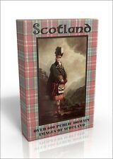 Scotland - over 600 public domain images DVD inc scenery of Edinburgh & Glasgow