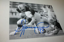 OAKLAND/LA RAIDERS GREG TOWNSEND #93 SIGNED 8X10 PHOTO SB XVIII CHAMPS W/ELWAY