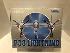 New ListingArmour Collection 1:48 Diecast P-38 Lightning Cal Cutie 98114 Franklin Mint