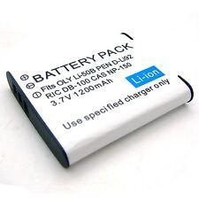 Battery for LI-50B Olympus Tough TG-610 TG-810 TG-805 SH-21 TG-820 iHS TG-850
