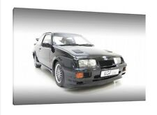 Ford Sierra RS500 Cosworth  - 30x20 Inch Canvas Art - Framed Picture Print