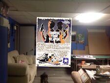 NEW HUGE! 44x29 LARRY BIRD Magic Johnson vinyl Banner poster Boston Celtics ART